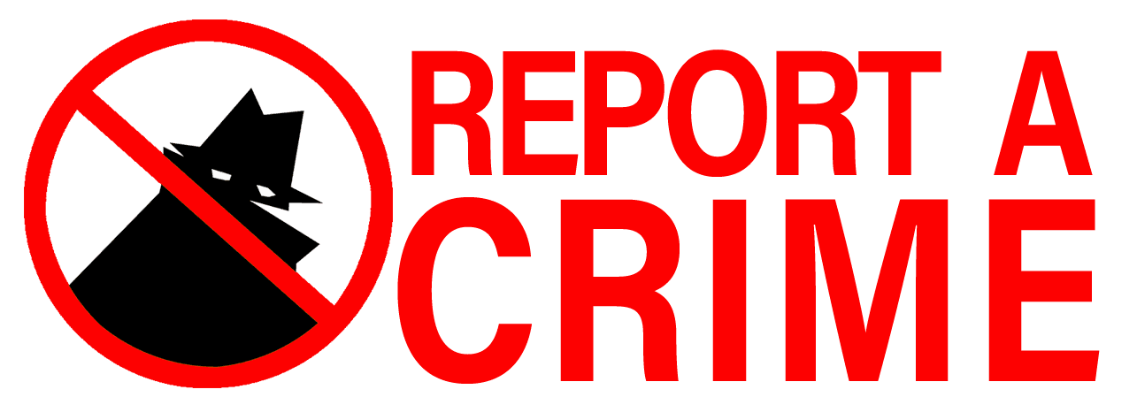 crime report button